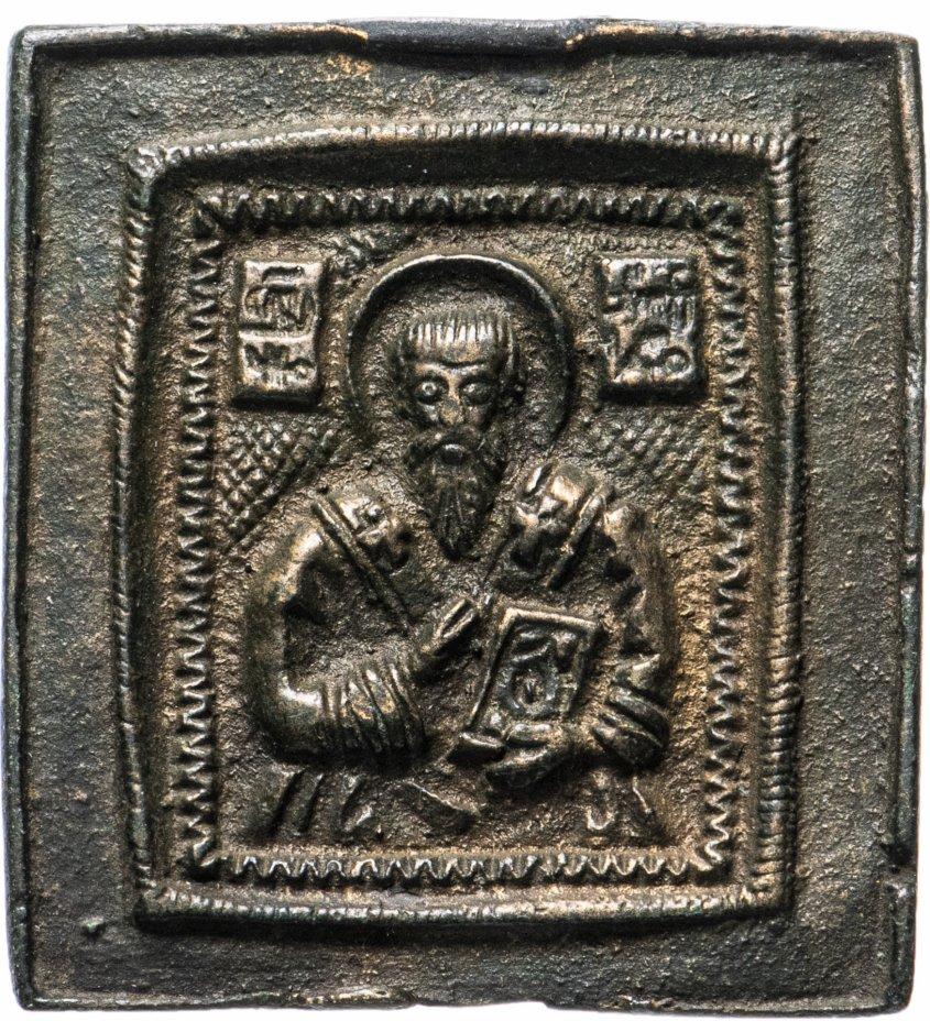 """купить Икона """"Священномученик Антипа """" 18в"""