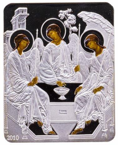 купить Острова Кука 5 долларов 2010 «Икона Троица», с сертификатом