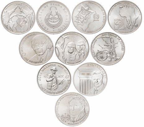 купить Португалия набор из 10 монет 2,5 евро 1998-2014