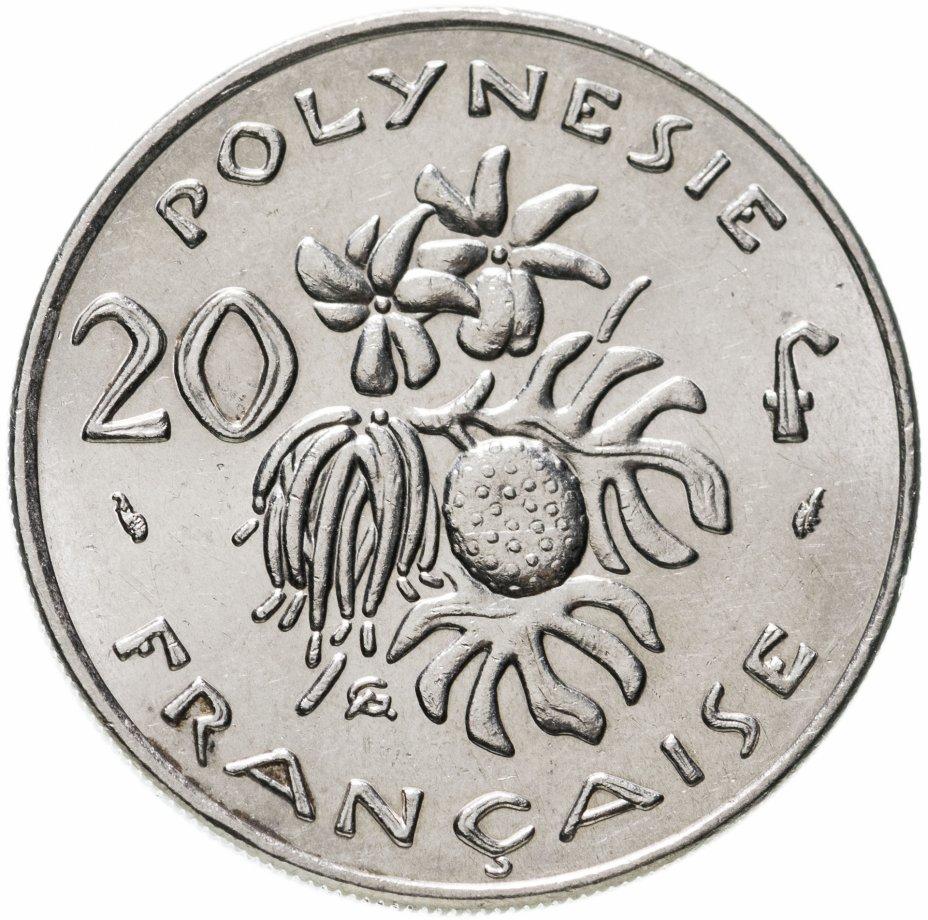 купить Французская Полинезия 20 франков (francs) 1979