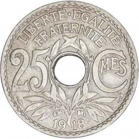 купить Франция 25 сантимов 1918