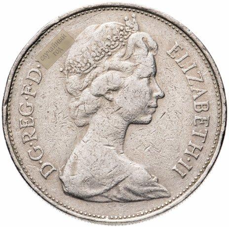 купить Великобритания 10 пенсов 1968-1975, случайная дата