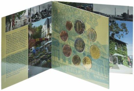 """купить Люксембург набор из 9 монет 2014 """"Дюделанж"""" в буклете"""