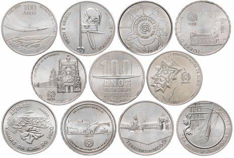 купить Португалия набор из 11 монет 2,5 евро 2008-2014