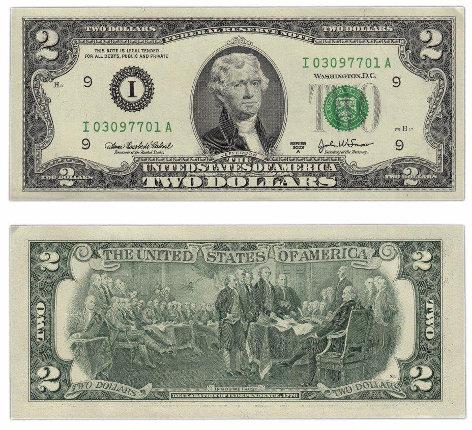 купить США 2 доллара 2003А (Pick 516b)