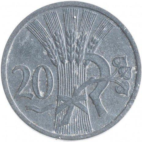 купить Богемия и Моравия 20 геллеров 1943