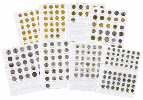 купить Комплект вставок+листы формата Optima для монет регулярного выпуска с 1991