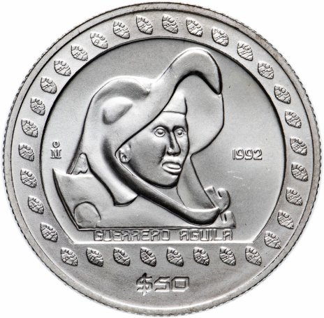 купить Мексика 50 песо 1992