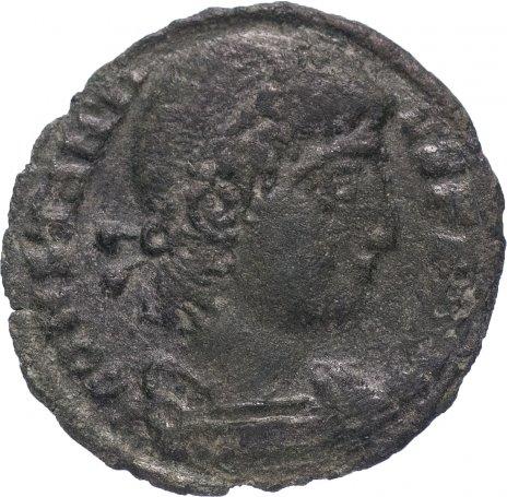 купить Римская Империя Констант 333–350 гг фракция фоллиса (реверс: две Виктории стоят лицом друг к другу)