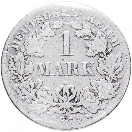 купить Германия (Германская империя) 1 марка 1874 F