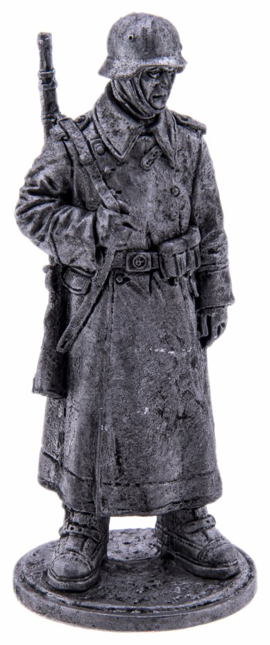 купить Оловянный солдатик, Рядовой пехоты Вермахта (Германия) в караульных ботах, Россия, 2021