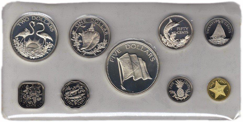 купить Багамы набор монет 1974 Proof (9 монет)