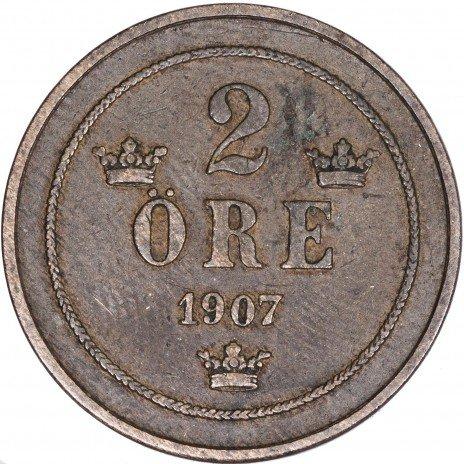 купить Швеция 2 эре  1907