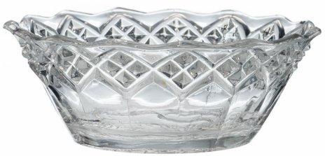 Ваза для сервировки варенья с декором в виде груши, стекло, СССР, 1980-1990 гг. стоимостью 980 руб.