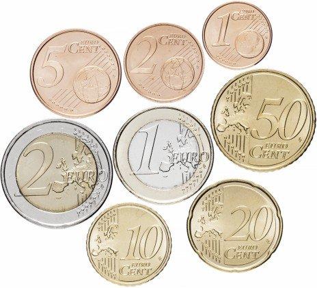 купить Португалия набор монет евро 2005 (8 штук)