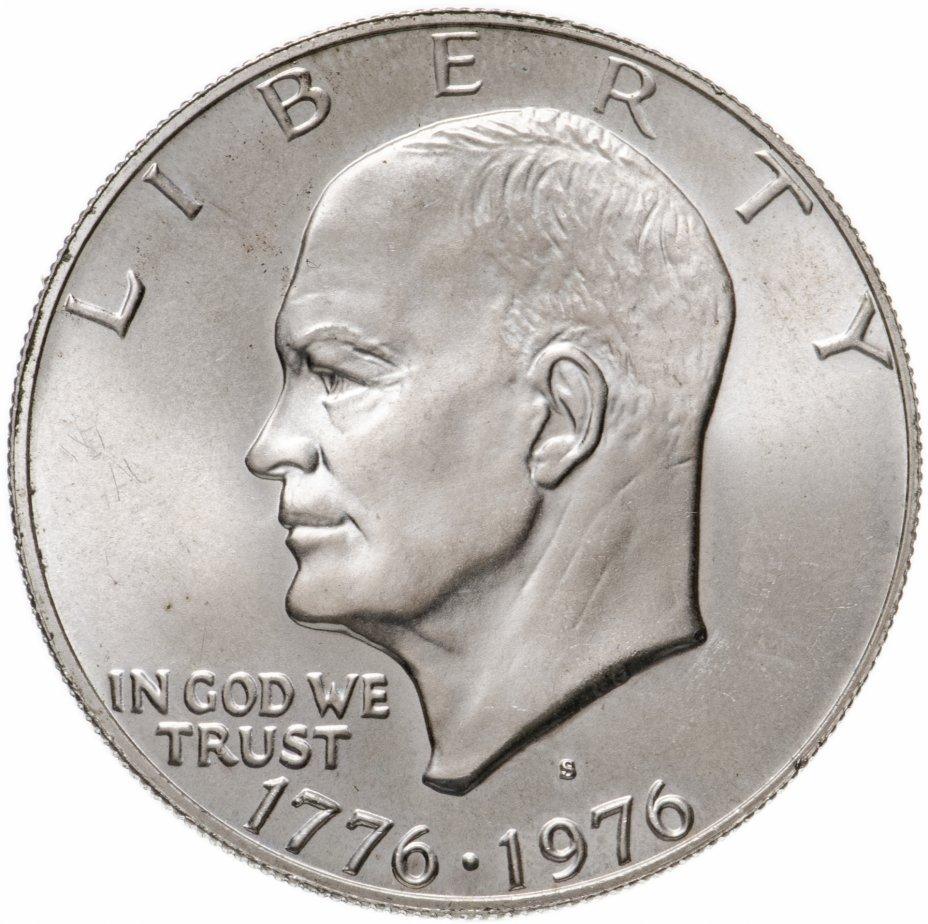 """купить США 1 доллар 1976 """"200 лет независимости США"""" (S)"""