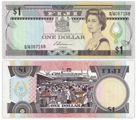 купить Фиджи 1 доллар 1987 (Pick 86a)