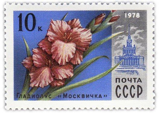 """купить 10 копеек 1978 """"Гладиолус """"Москвичка"""""""