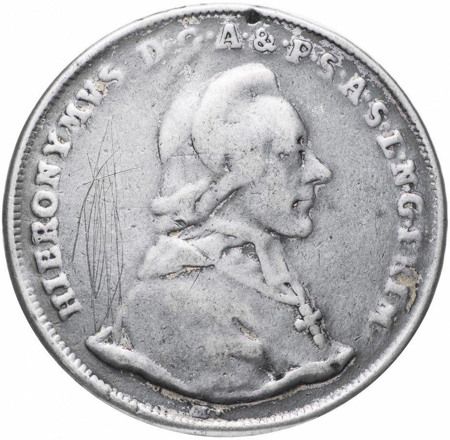 купить Княжество-архиепископство Зальцбургское 1 талер 1783