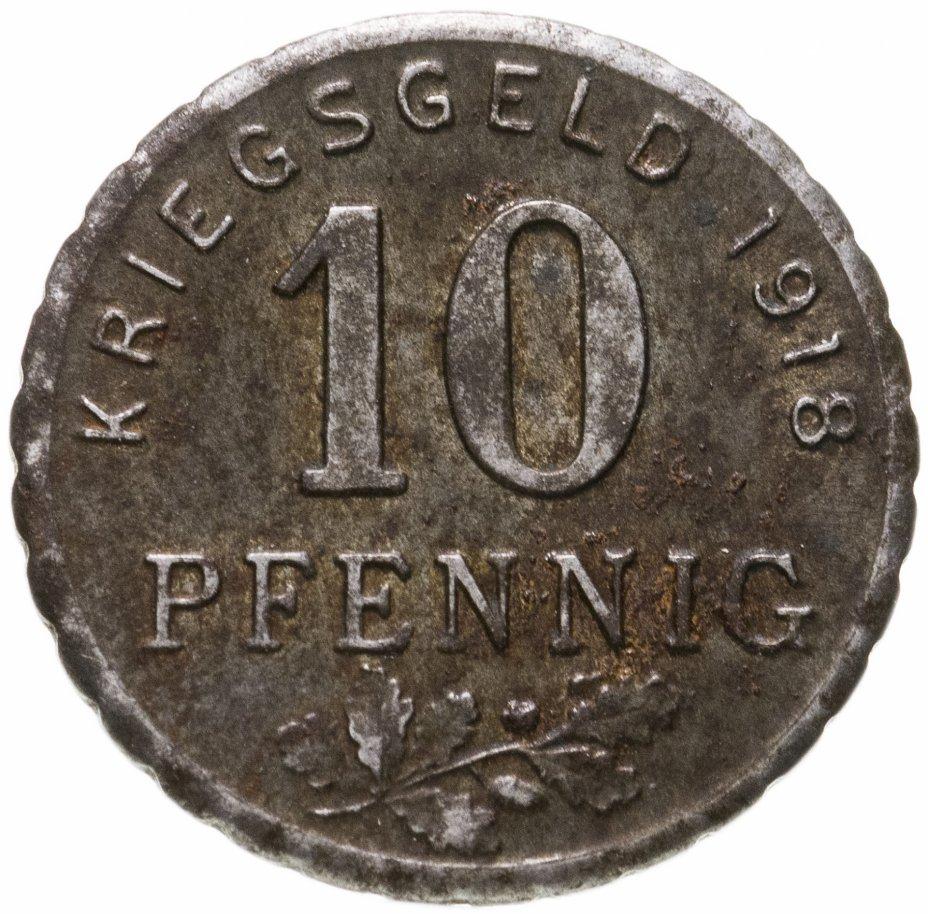 купить Германия (Бохум) нотгельд  10 пфеннигов 1918