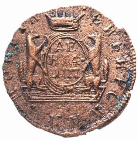 купить Денга  1777 КМ сибирская монета