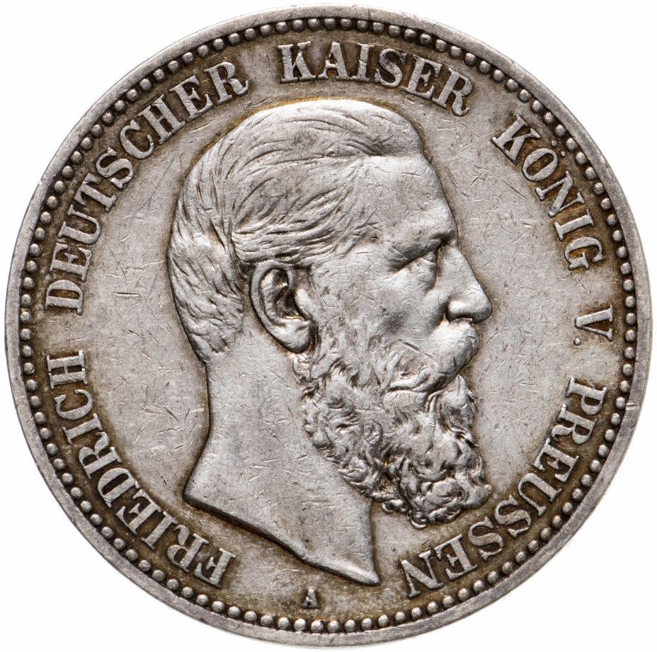 купить Германия (Пруссия), 5 марок 1888 A - Пруссия, император Фридрих III
