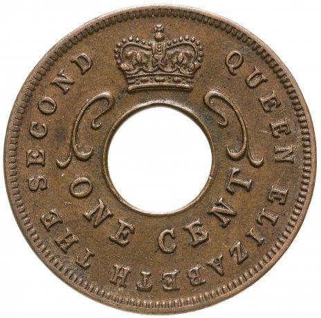 купить Британская Восточная Африка 1 цент (cent) 1957