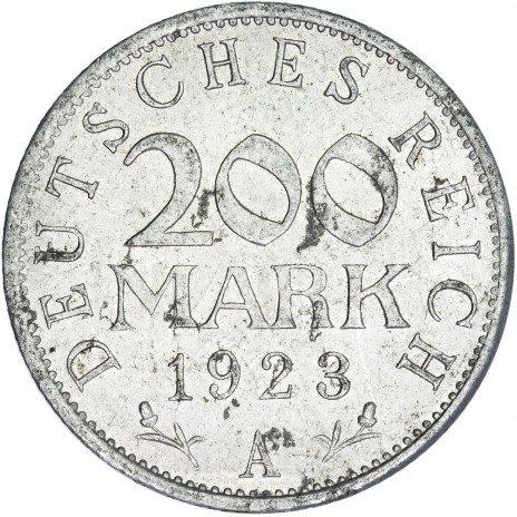 купить Германия 200 марок 1923