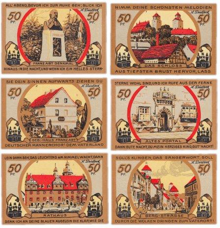 купить Германия (Саксония: Айленбург) набор из 6 нотгельдов 1920