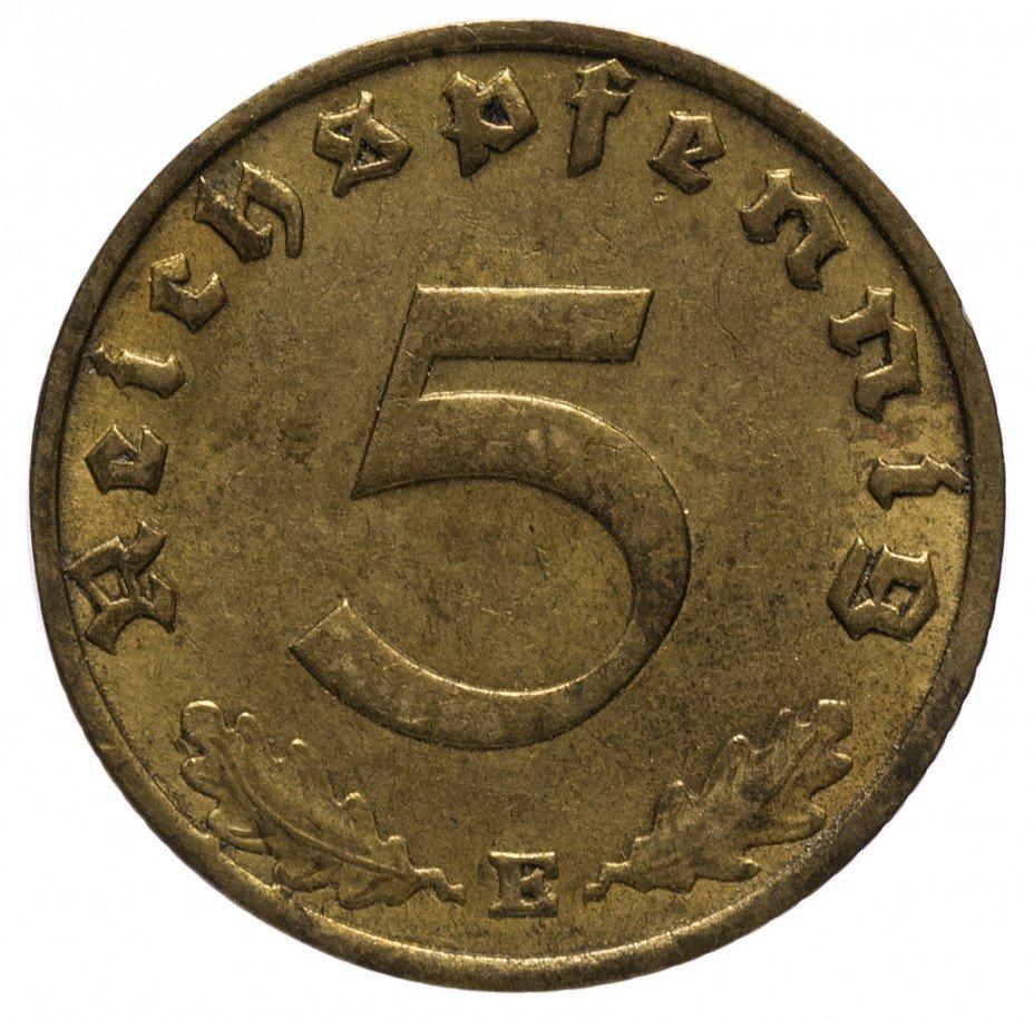 """купить 5 рейх пфеннигов 1937""""Е"""""""