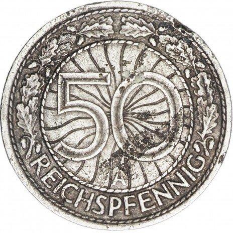 купить Германия 50 пфеннигов 1929