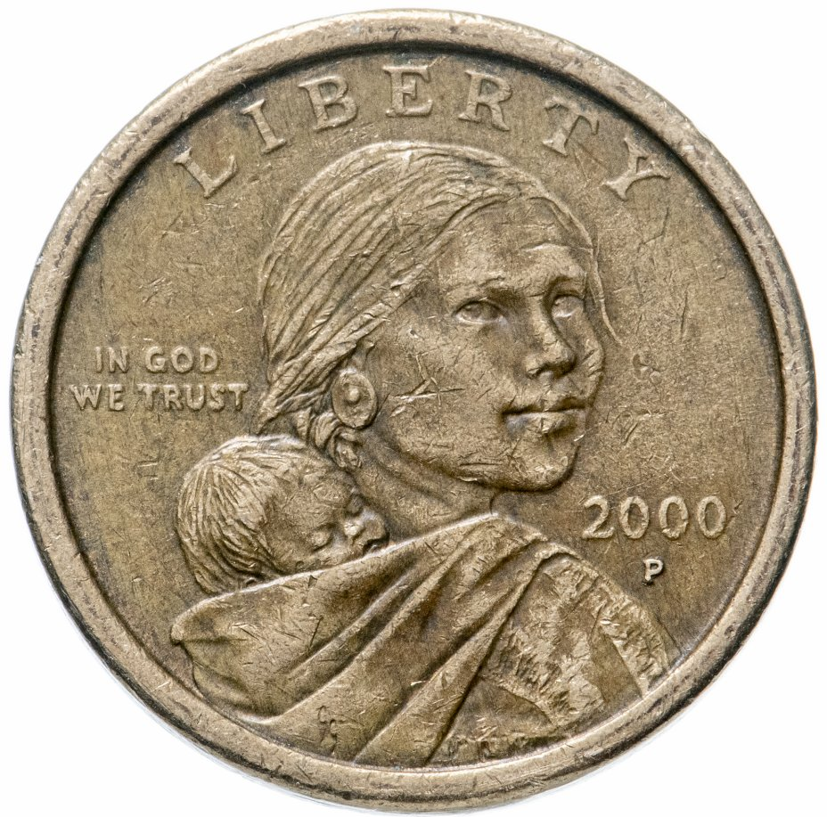 купить США 1 dollar (доллар) 2000 Sacagawea dollar