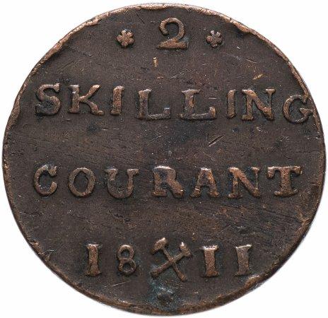 купить Норвегия 2 скиллинга  1811
