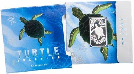 """купить Австралия 1 доллар 2008 """"Спящая черепаха"""" в буклете с сертификатом"""
