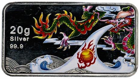 """купить Острова Кука 1 доллар 2012 """"Китайский гороскоп - Год дракона"""""""