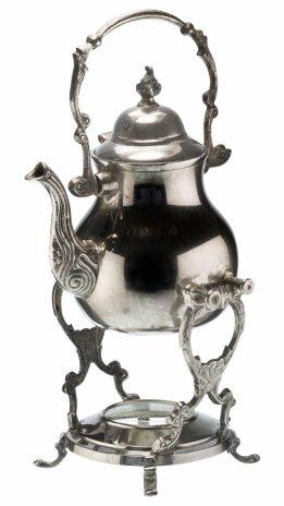 купить Бульотка антикварная, латунь с серебрением, Западная Европа, 1940-1950 гг.