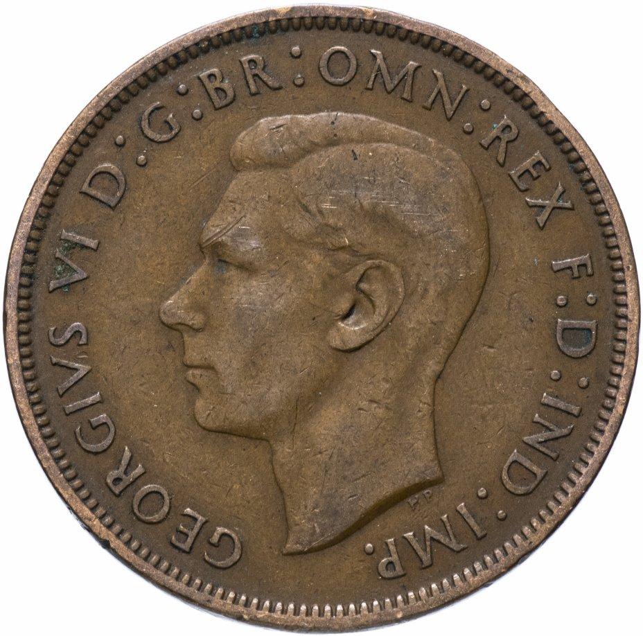 купить Великобритания 1 пенни (penny) 1938