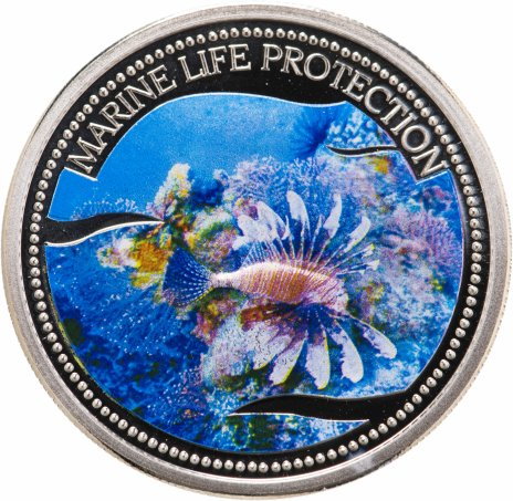 """купить Палау 1 доллар 2005 """"Защита морской жизни-Крылатка"""""""