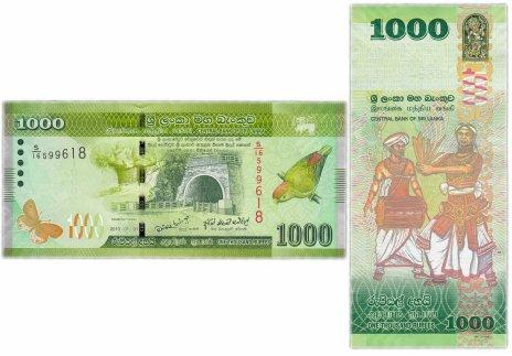 купить Шри-Ланка 1000 рупий 2010 (Pick 127a)