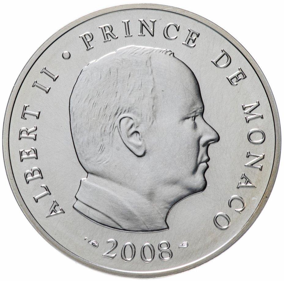 купить Монако 5 евро 2008 принц Альберт II