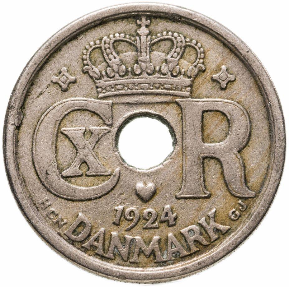 купить Дания 25 эре (ore) 1924