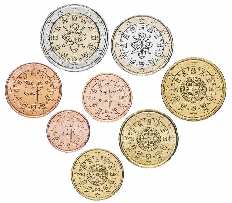 купить Португалия набор монет евро 2006 (8 штук)