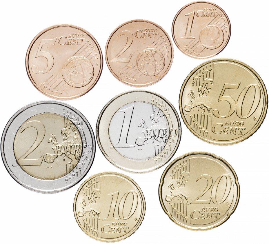 купить Испания набор монет евро 2006 (8 штук)