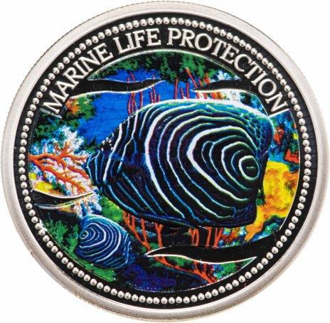 """купить Палау 1 доллар 2005 """"Защита морской жизни-Императорский ангел"""""""