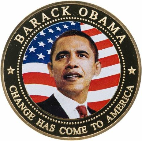 купить Либерия 5 долларов 2009 Барак Обама