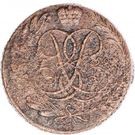 купить 5 копеек 1759 без обозначения монетного двора