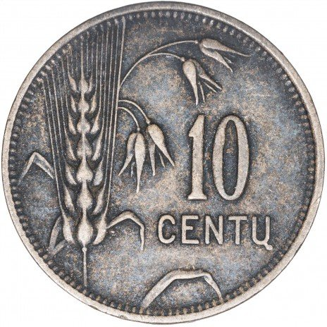 купить Литва 10 центов 1925