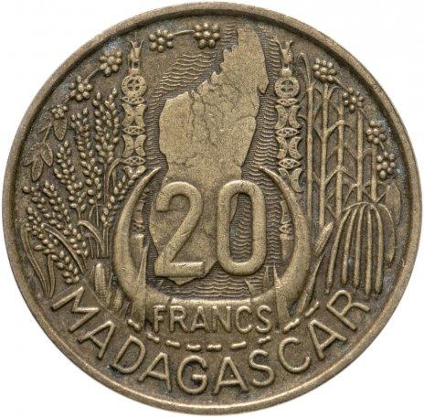 купить Мадагаскар 20 франков 1953