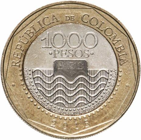 купить Колумбия 1000 песо (pesos) 2015
