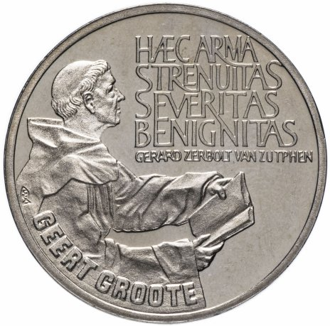 купить Нидерланды 2 1/2 экю 1990 Герт Гроте